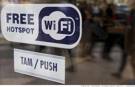 美国互联网和有线电视巨头联手推进WiFi建设