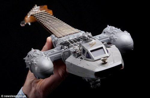 科技手工制作飞船