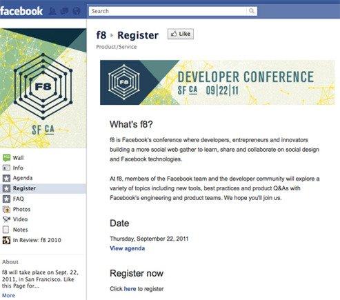 F8各种爆料来袭 传Facebook将推新版个人资料
