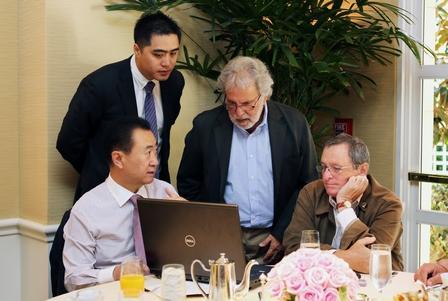 好莱坞迷上中国梦,王健林开出40%退税优惠