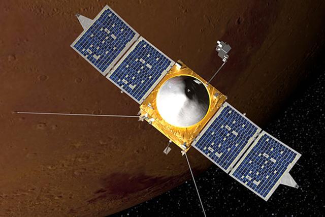 火星大气1000公里处意外发现大量微小尘埃
