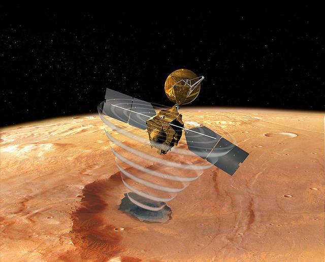 美国火星轨道飞行器因电脑故障进入安全模式