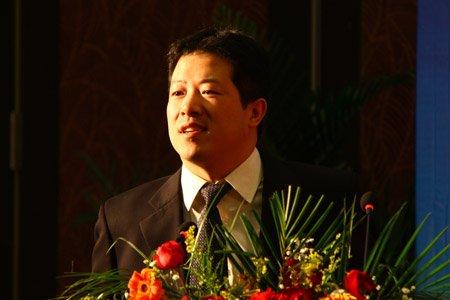 图文:帕勒咨询公司董事罗清启讲话