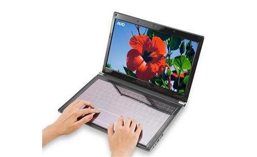 友达推出触摸式太阳能笔记本键盘(图)