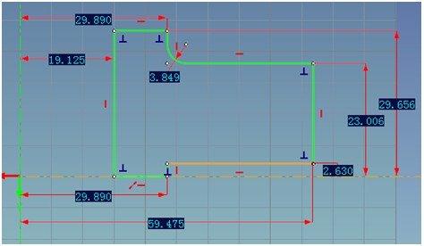 CAXA三维CAD法兰化和系列化之参数零件参数cad如何v法兰插入块图片