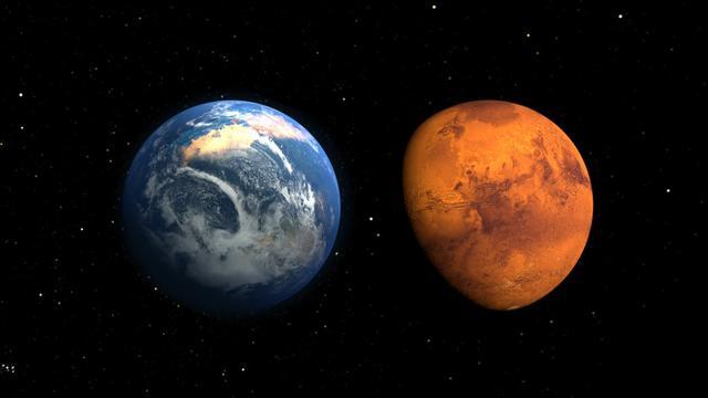 美登月宇航员:人类2040年可登陆火星 行程需3年