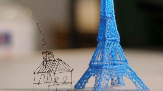 神筆馬良成現實:3D打印筆可憑空畫畫