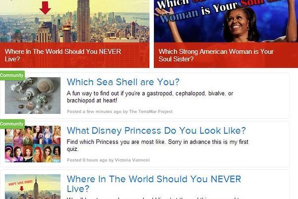 效仿BuzzFeed 新闻网站PlayBuzz迅速蹿红