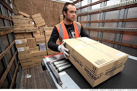 亚马逊计划在美聘用5万临时工 应对购物季