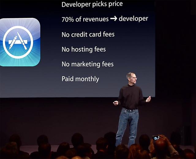 六岁的App Store正改变世界:销售额达300亿