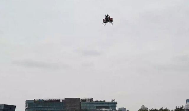 售价百万的光启飞行包实现中国首飞