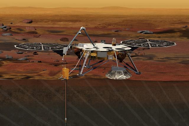洞察号火星着陆器地震仪故障导致发射推迟