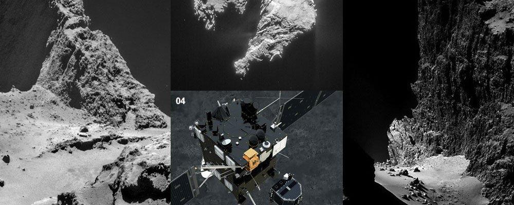 1985-2015 三十年彗星探测史回顾