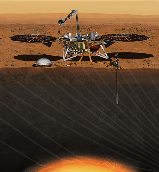 NASA火星探测任务将于2018年发射