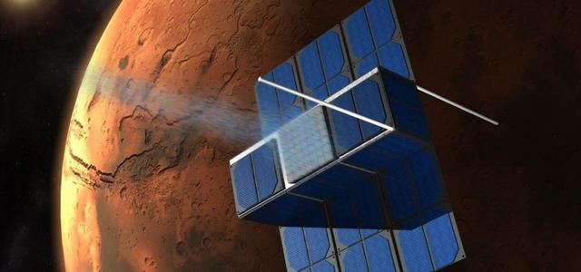"""美国2017年向火星发射""""时间胶囊""""小卫星"""