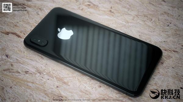 iPhone 8超高清外形渲染图抢先看