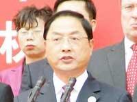 商务部副部长蒋耀平做主题发言