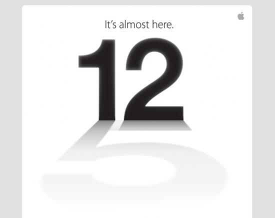 苹果发布媒体邀请函 9月12日召开新品发布会