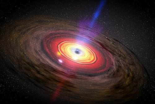 天文学家发现黑洞质量比之前预测的更小(图)