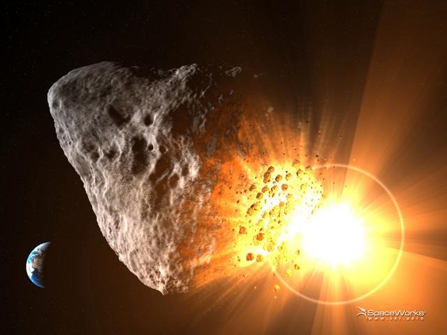 俄罗斯计划用核弹摧毁小行星
