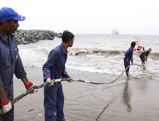 联通海缆在缅甸登陆 国际网络时延将减少