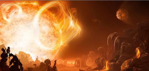 """科学家发现""""地狱星球"""":温度达3000摄氏度"""