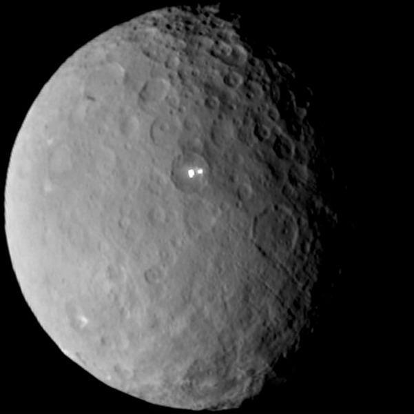 活跃的矮行星 天文学家聚焦谷神星神秘亮点