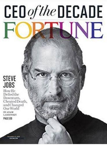 图文:乔布斯登上《财富》杂志封面