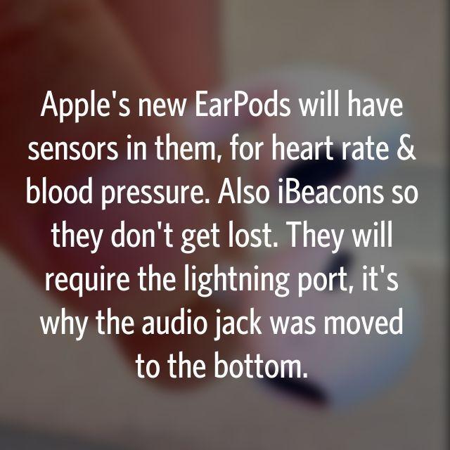传苹果新款耳机能测量心率和血压