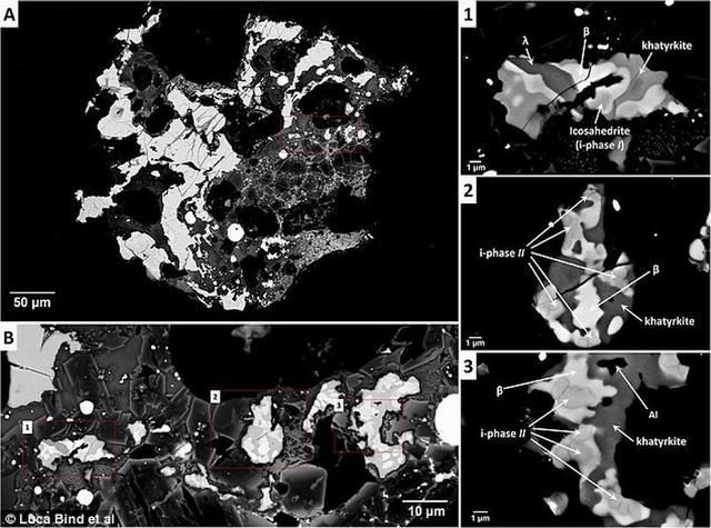 """科学家在陨石中发现第三种""""不可能存在""""的准晶体"""