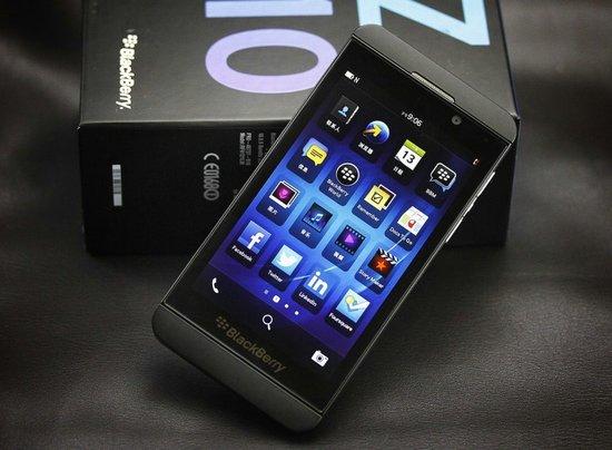 黑莓夺取市场 半数Z10用户来自iPhone及Android