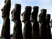 欧洲殖民者带来疾病导致复活节岛文明衰落