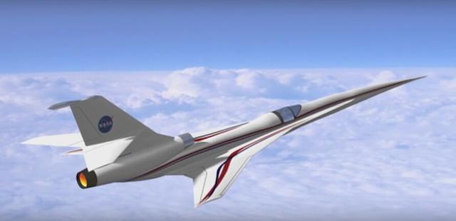 NASA尝试抑制音爆:超音速客机2025年后问世