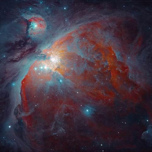 十大最美天文摄影照片 水彩画般梦幻猎户星云