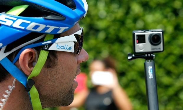 运动相机制造商GoPro第二季度营收同比增长72%