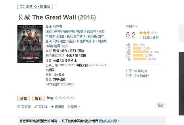 """人民日报:中国电影,要有容得下""""一星""""的肚量"""