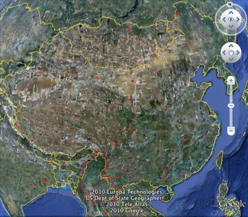 谷歌地球卫星图8再次更新 提供东欧鸟瞰图
