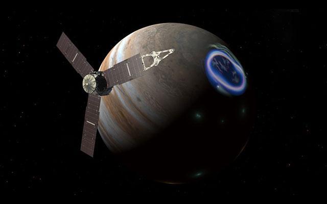 美朱诺号木星探测器打破太阳能使用距离新纪录