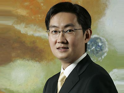 腾讯董事会主席兼CEO马化腾