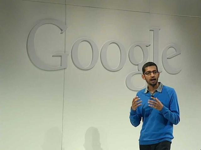 谷歌副总裁桑达尔皮猜(腾讯科技配图)