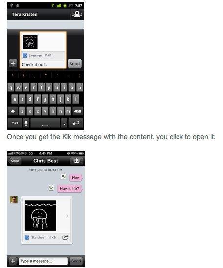 Kik Messenger SDK:为应用增加实时分享功能
