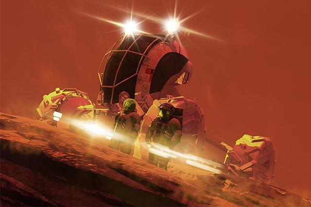 NASA宇航员称火星之旅很危险:最重要是活命