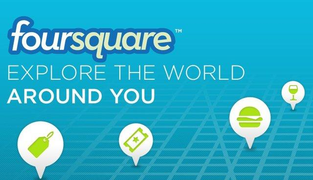 微软1500万美元投资签到鼻祖Foursquare