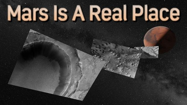 不用天文望远镜 这个VR应用就能让你看到火星真貌