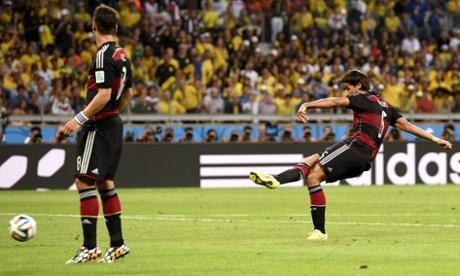 德国血洗巴西一战刷新Twitter纪录