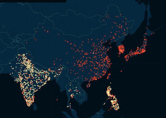 婚外情网站泄密资料被绘成出轨地图:含5万城市