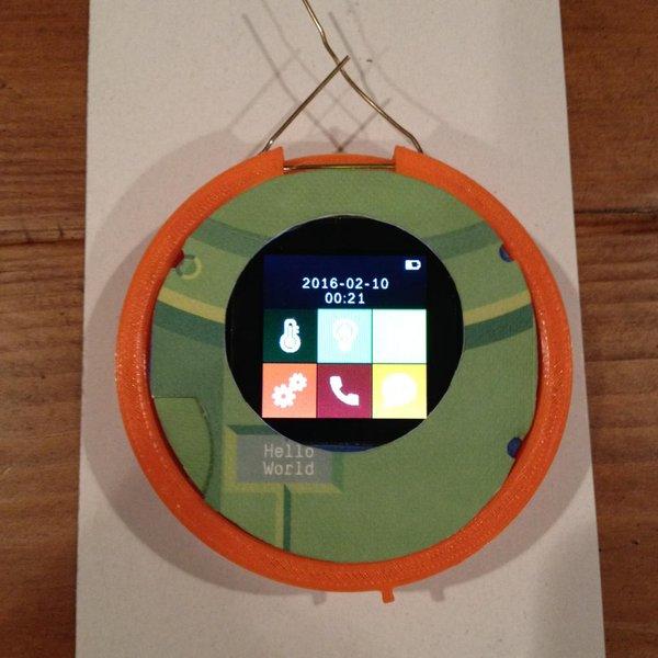 这家公司为女性设计了胭脂盒式圆形手机 你买吗