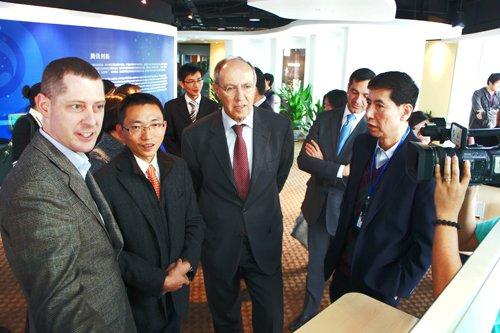QQ获全球创意金奖 世界知识产权组织访问腾讯