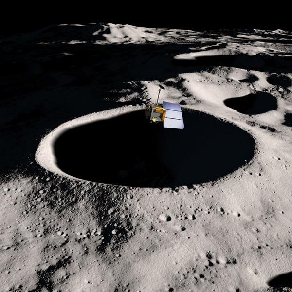 美国月球探测器降低高度 距月面仅20公里