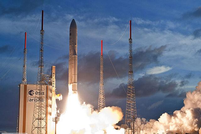 阿丽亚娜5型火箭实现第70次连续成功发射